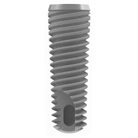 Vent Implant Machined, Ø 3.75mm, L11.5mm w. TVSCS