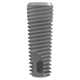 Vent Implant Machined, Ø 4.1mm, L11.5mm w. TVSCS